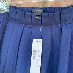 J. Crew Skirts - NWT J Crew Blue Midi Skirt